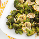 Roasted Broccoli and With Garlic and Lemon