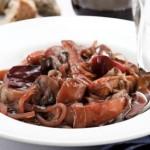 Red Wine Braised Root Vegetables