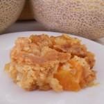 Cantaloupe Crunch Dessert