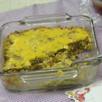 Purple Hull Peas & Rice Casserole